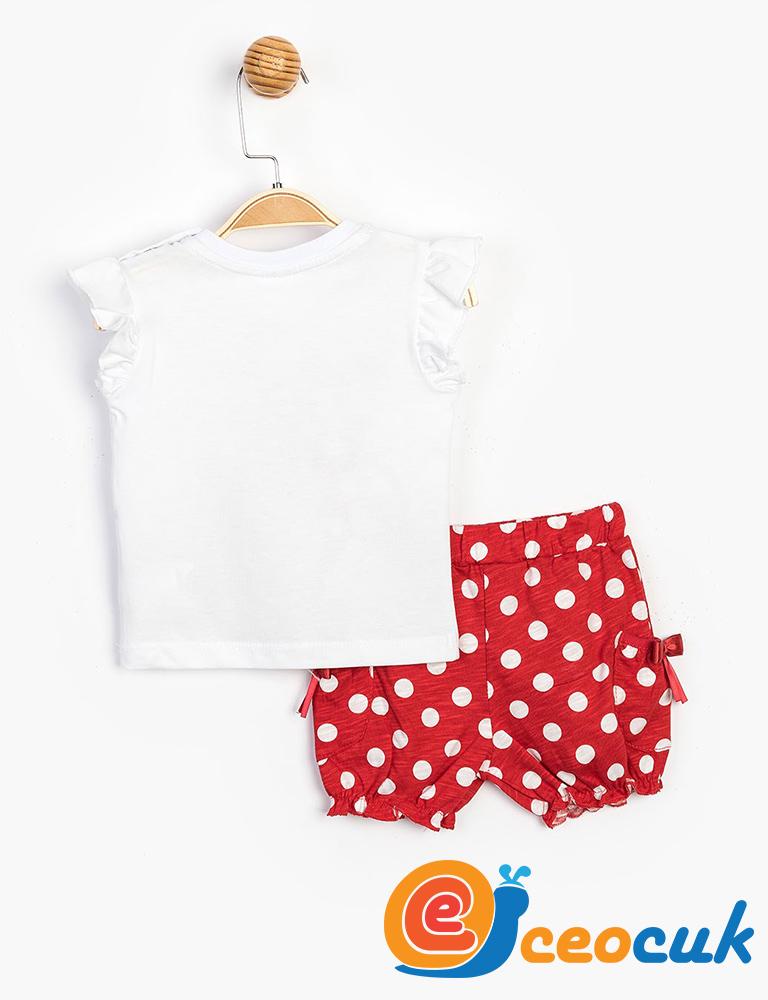 Disney MINNIE MOUSE Bebek Şortlu Takım