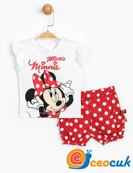 Disney MINNIE MOUSE Bebek Şortlu Takım - Thumbnail