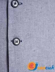 Gri Detay Çocuk Takım Elbise - Thumbnail