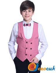 Pudra Renk Çocuk Takım Elbise - Thumbnail