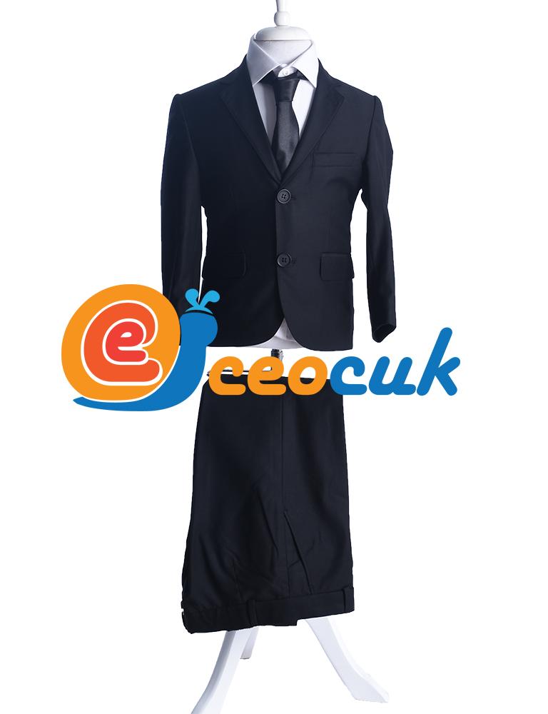 Siyah Yelekli Klasik Takım Elbise